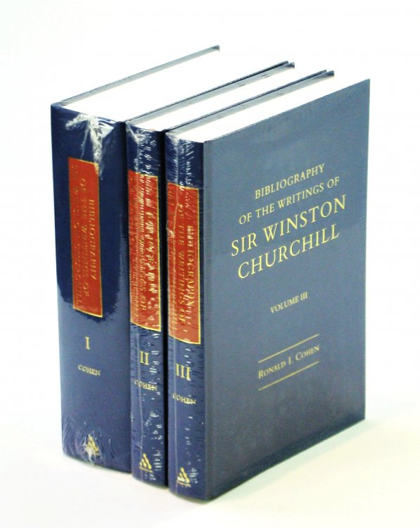 Bibliography of the Writings of Sir Winston Churchill - Complete in Three Volumes