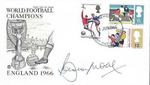 Bobby Moore Signed First Day Cover