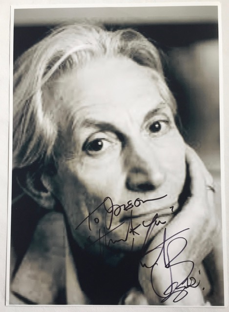 Charlie Watts SIGNED PHOTOGRAPH ROLLING STONES
