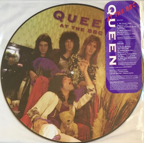 Queen At The BBC - USA Promo Picture Disc LP
