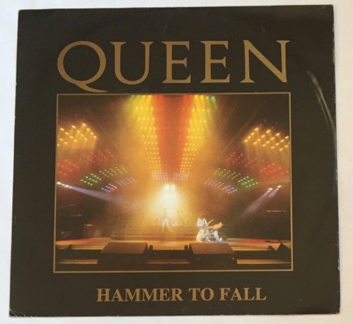 Hammer to Fall 1234 LIVE Sleeve
