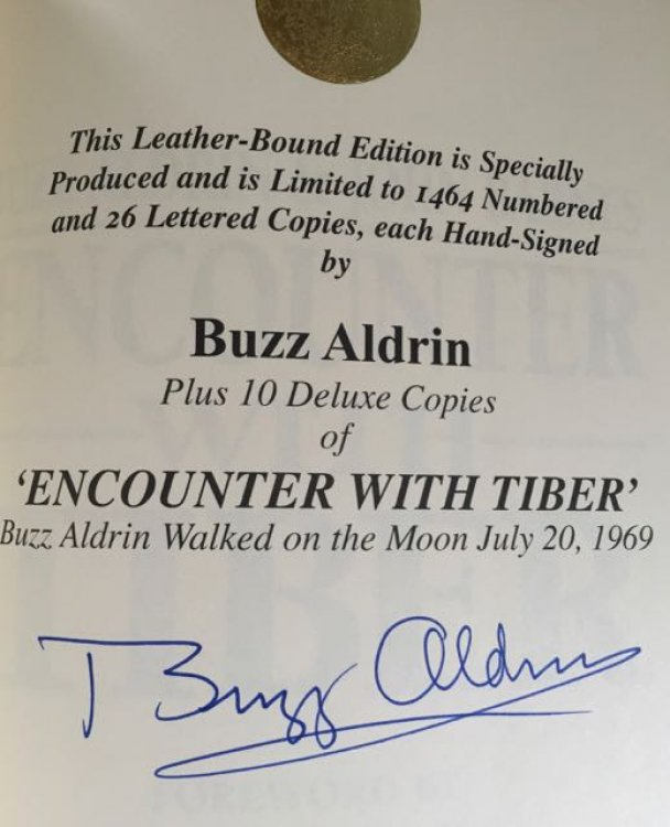 Encounter With Tiber AUTOGRAPHED