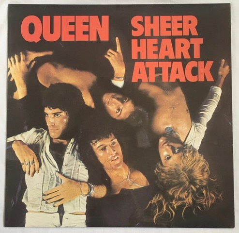 Sheer Heart Attack DOUBLE SIGNED vinyl LP