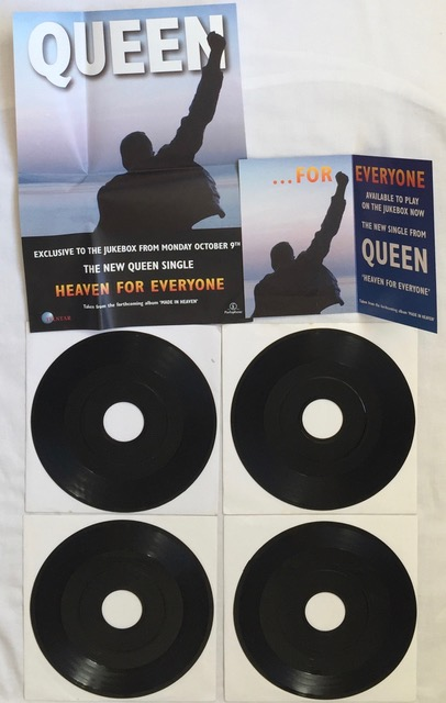 4x Job Lot collection of Black Label Promo 734 Vinyl