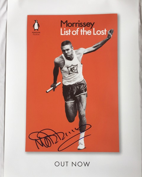 List Of The Lost SIGNED Promotional Poster