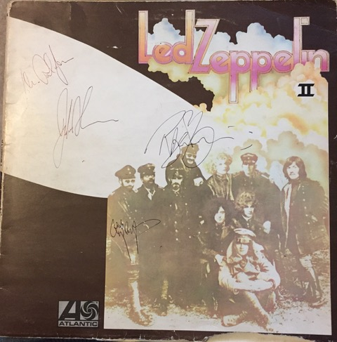 Led Zeppelin II SIGNED LP