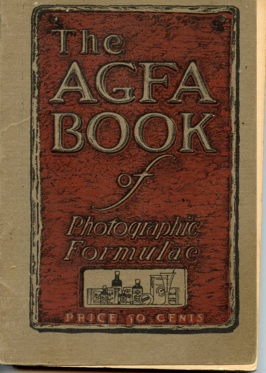 The AGFA Book of Photographic Formulae
